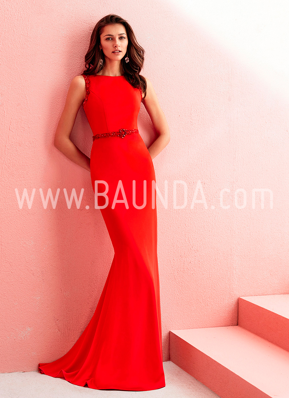 Hermosa Vestidos De Dama De Color Rojo Y Marfil Ilustración - Ideas ...