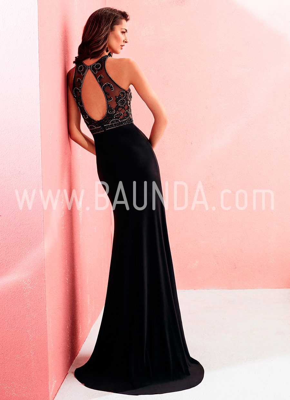 Baunda Vestido largo Marfil 2018 modelo 2J113 Baunda Madrid y online