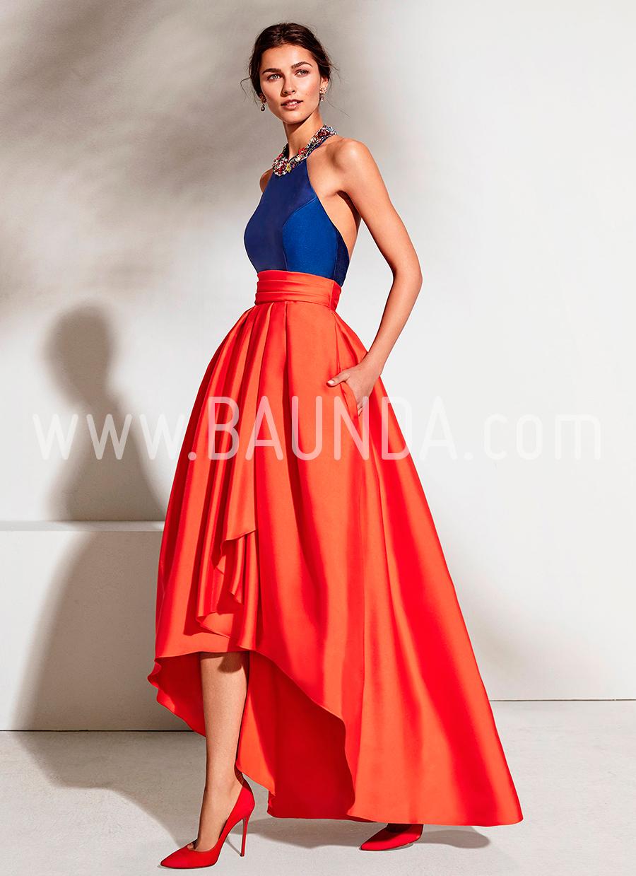 2f6ee1cde8 Baunda Vestido de fiesta Marfil 2018 modelo 2J1A7 Baunda Madrid y online