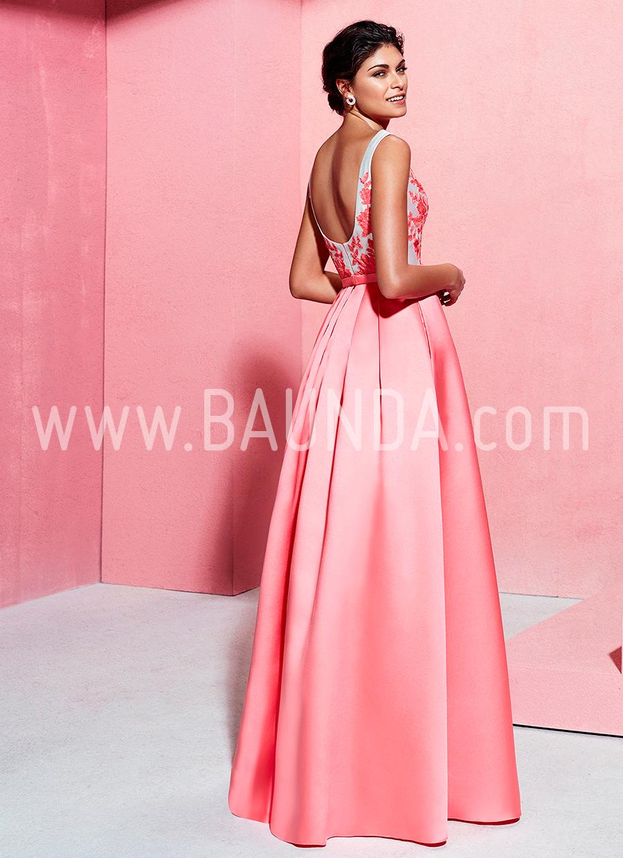 Baunda Vestido coral hermana de la novia Marfil 2018 2J1C5 Madrid y ...