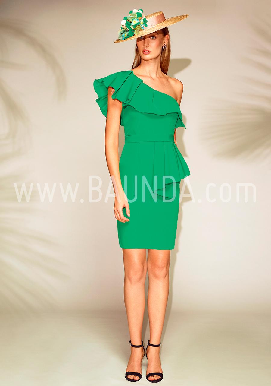 a64affde9 Vestidos de noche cortos verde - Vestidos populares europeos