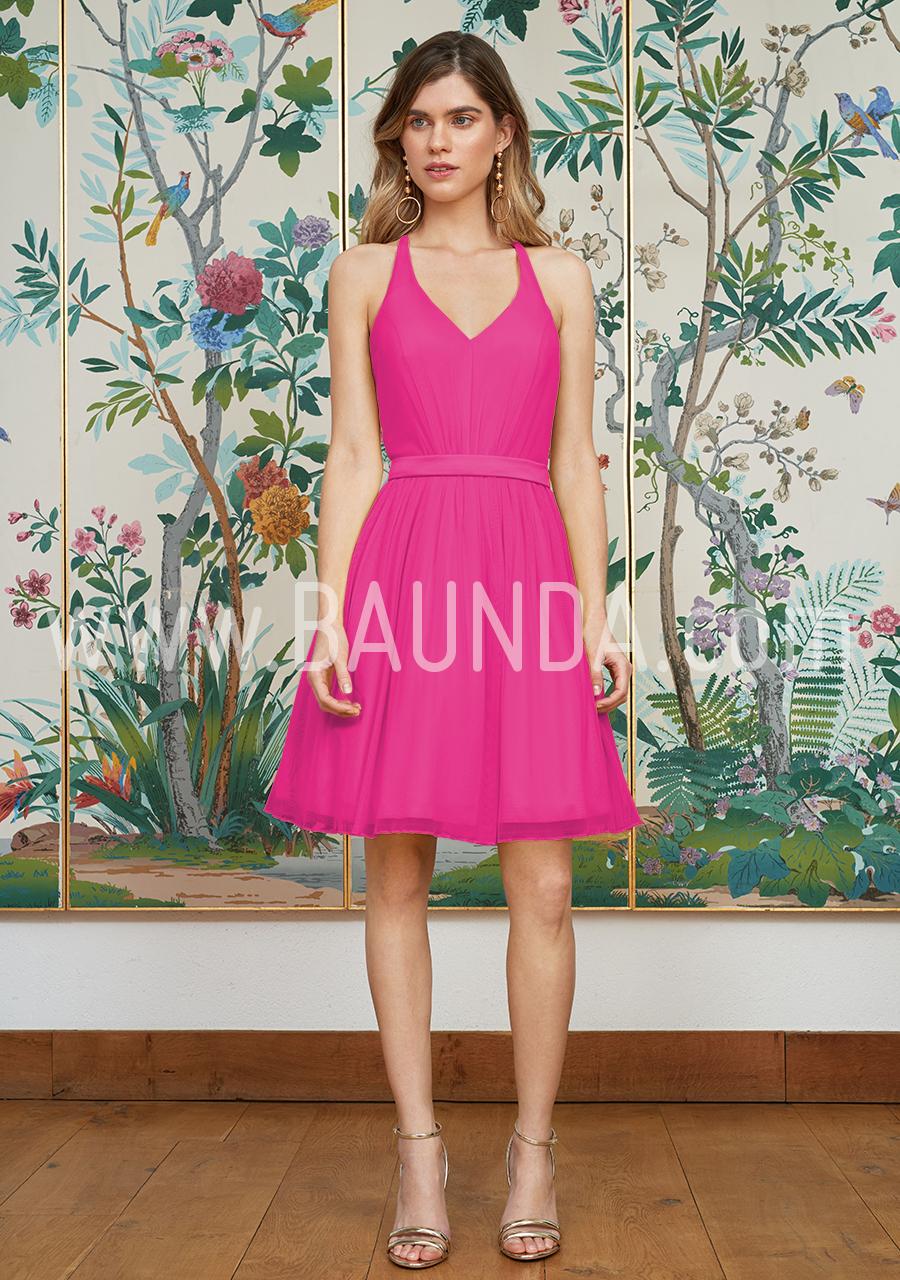 d9c77ecc1 Baunda Vestido sencillo fucsia 2018 Baunda 1816 en Madrid y tienda ...