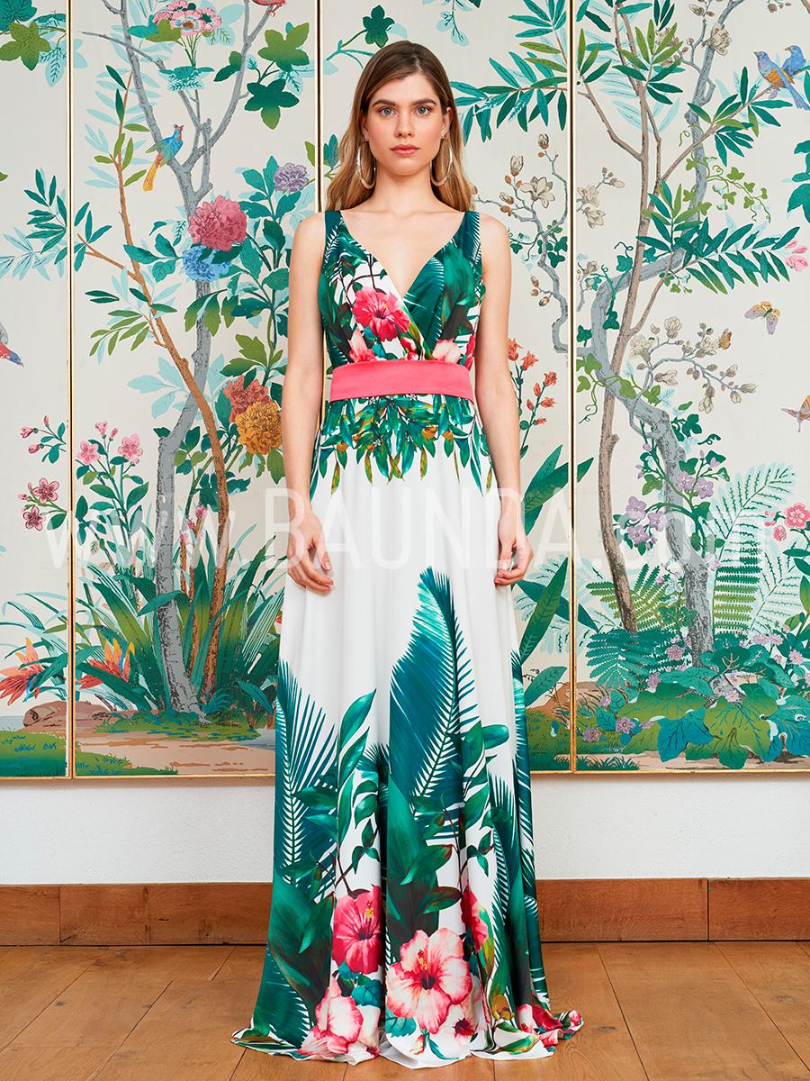Baunda Vestido de boda estampado Baunda 2018 modelo 1861 en Madrid y ...