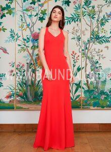 Vestido sirena coral 2018 Baunda modelo 1868