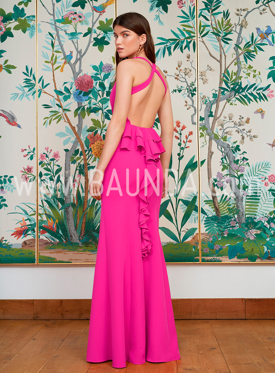 Baunda Vestido sirena fucsia 2018 Baunda modelo 1869 en Madrid y online