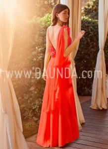 Vestido ajustado coral 2018 Baunda modelo 1873