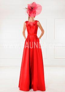 Vestido de madrina rojo 2018 XM 9839