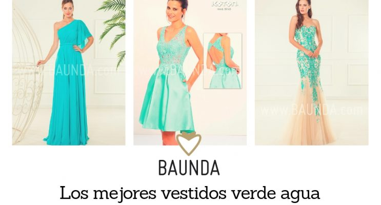 Vestidos verdes bodas invitadas