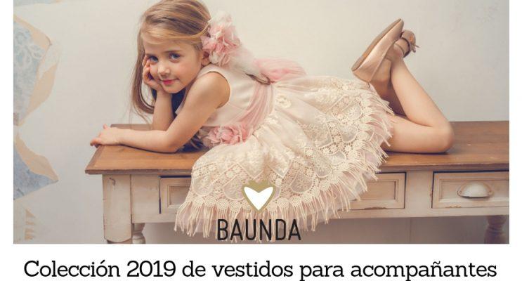 Vestidos acompañantes niñas Baunda Madrid