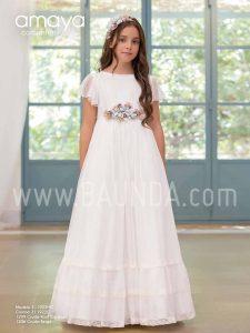 b576e51ac27a Baunda Vestidos de comunión Amaya 2019 en Baunda Madrid y tienda online