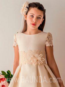 Vestido comunión Angel Schlesser 2019 modelo J341 cuerpo en Madrid