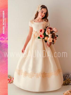 Vestido comunión estrella Angel Schlesser 2019 modelo J342 en Madrid