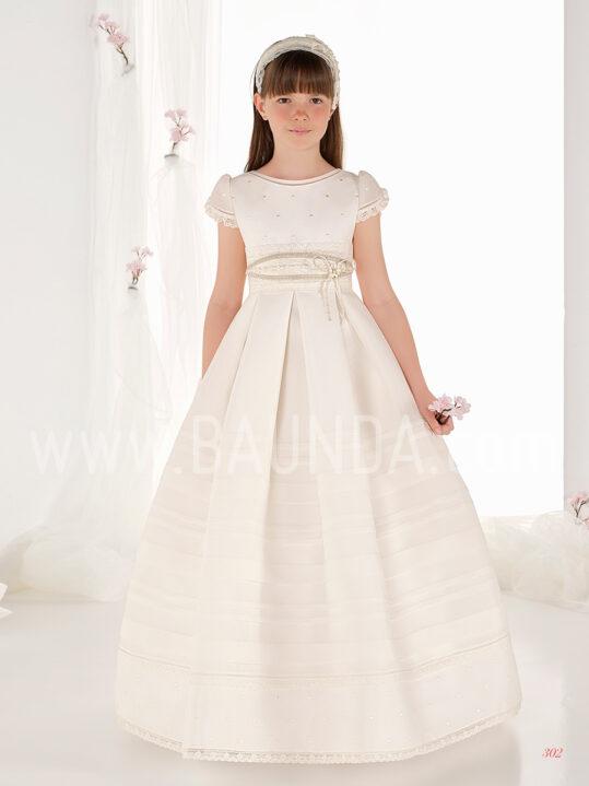 Vestido comunión de tablas 2019 Elisabeth modelo 302 en Madrid