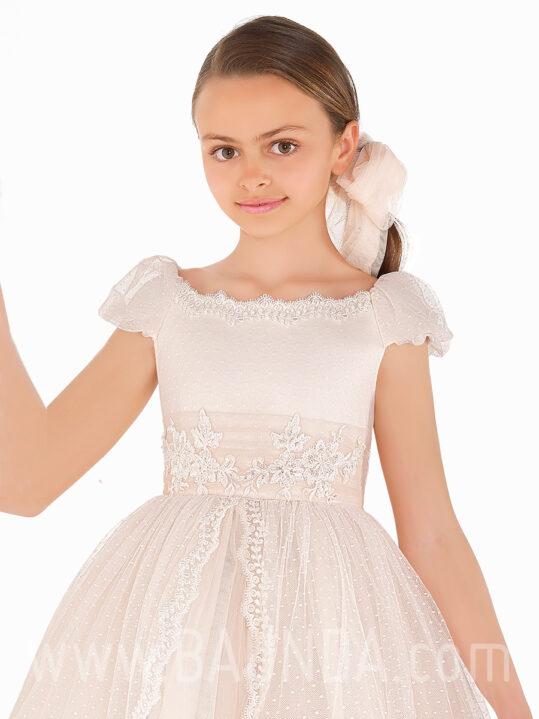 Vestido comunión princesa 2019 Elisabeth modelo 502 cuerpo
