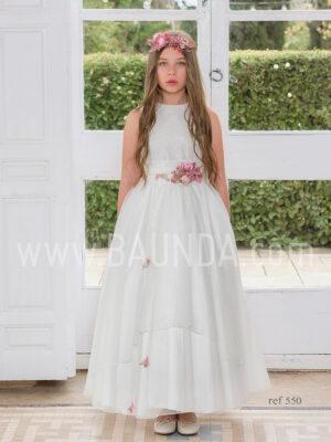 Vestido de comunión Magnifica Lulú 2019 modelo 550 en Madrid