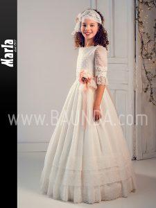 Vestido de comunión vintage 2019 Marla modelo J131 en Madrid