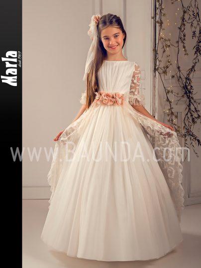 Vestido comunión bordado 2019 Marla modelo J151 en Madrid
