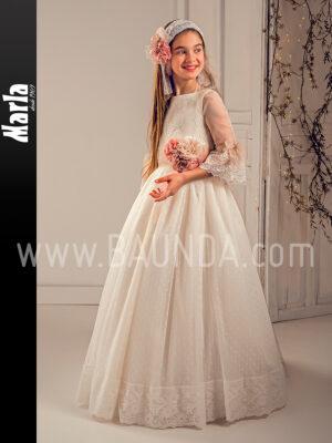 Vestido comunión romántico 2019 Marla modelo J154 en Madrid