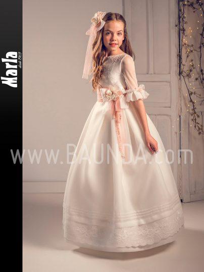 Vestido comunión blanco roto 2019 Marla modelo J196 en Madrid