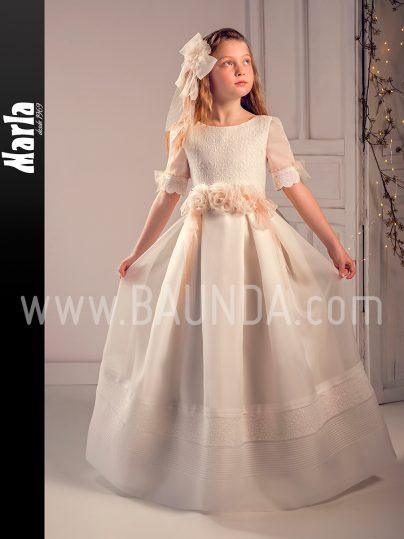 Vestido comunión tablas 2019 Marla modelo J197 en Madrid
