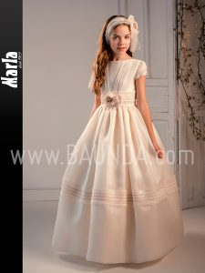 2fbca4781 Baunda Vestidos de comunion Marla 2019 en Baunda Madrid y tienda online