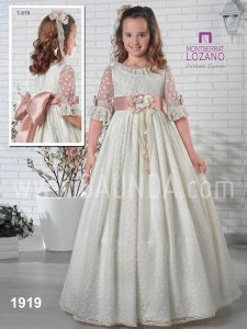 7ffd755a5c0 Baunda Communion dresses 2019 at Baunda Madrid made in Spain