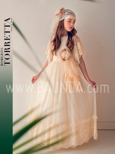 Vestido comunión Roberto Torretta 2019 modelo J401 en Madrid