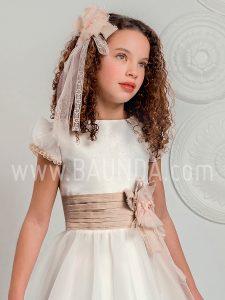 Vestido comunión falda capa Lola Rosillo 2019 modelo Q233 cuerpo