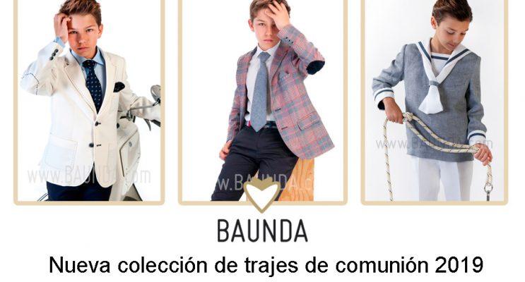 Nueva coleccion trajes comunion 2019