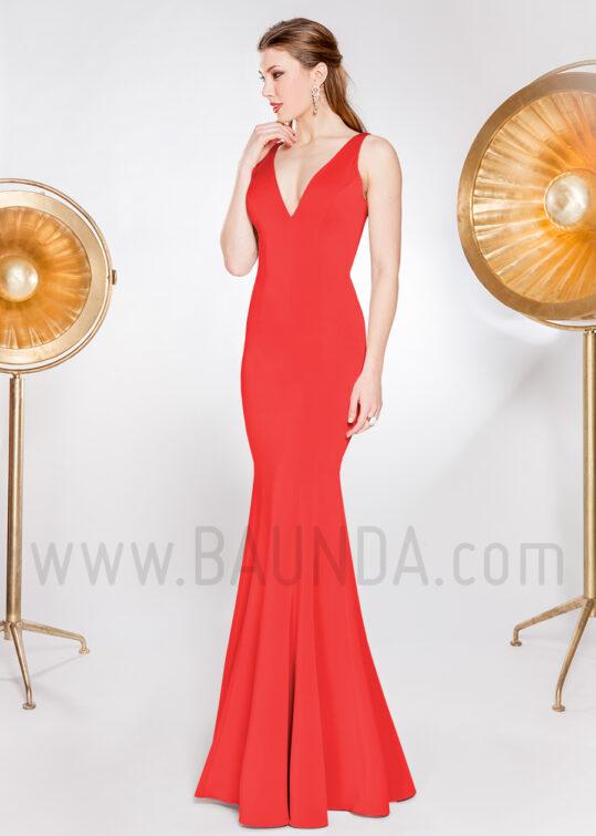 Vestido de fiesta 2019 XM 49077 rojo