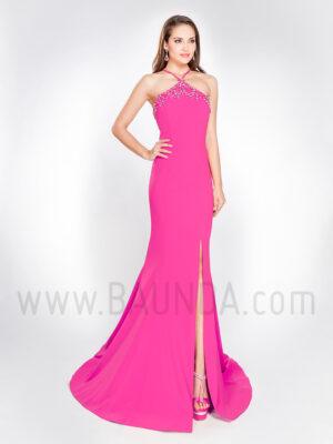 Vestido sirena fucsia 2019 Alma Couture 1032