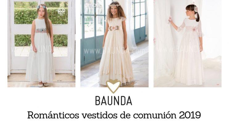 románticos vestidos de comunion