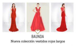 f084ad650 Nueva colección de vestidos rojos largos para bodas y fiesta