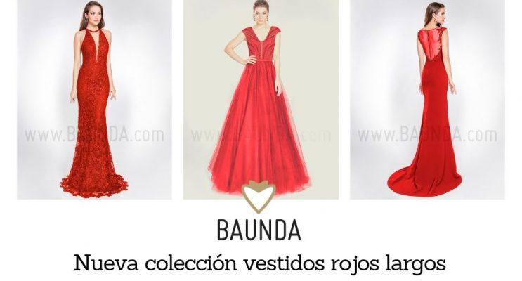 8715e29804 Vestidos largos rojos fiesta y bodas madrid 2019