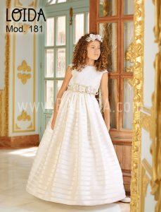 Outlet vestido de comunión Loida 2018 modelo 181