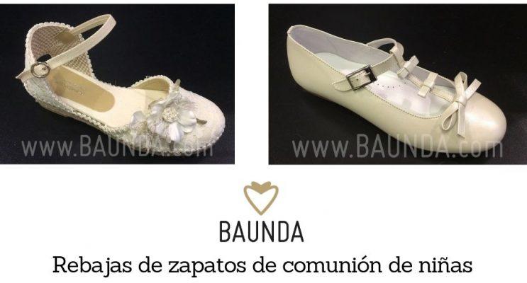 rebajas zapatos comunion niñas madrid ofertas