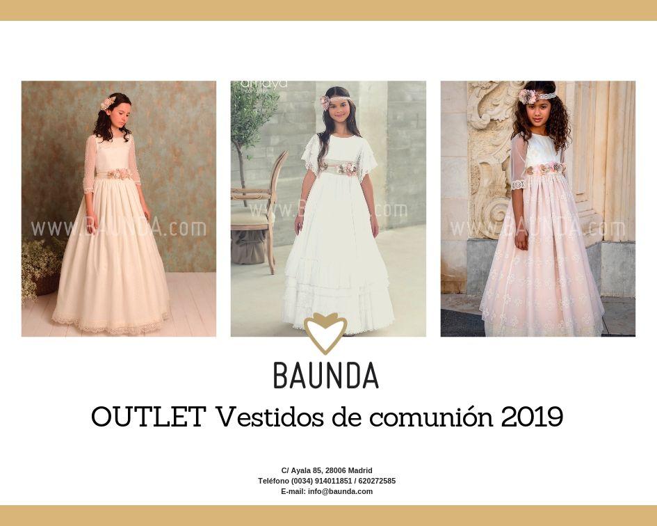 vestidos baratos comunion Outlet vestidos comunion niñas