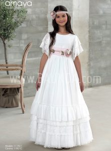 Outlet vestido comunión Amaya modelo 921-R