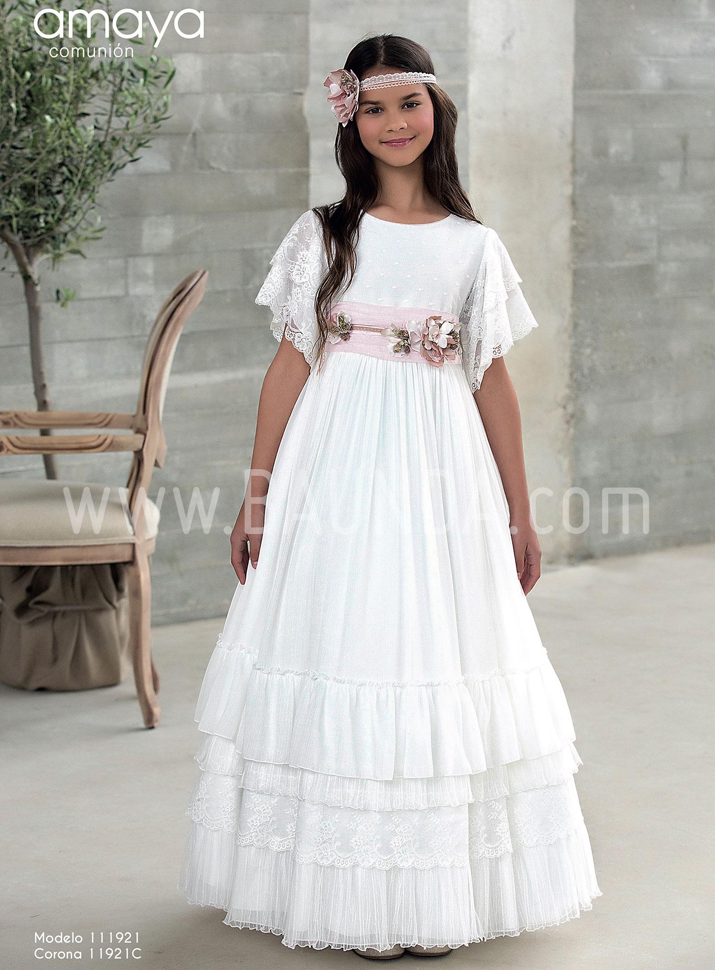 precio justo gran inventario comprar baratas Baunda OUTLET vestidos comunión de niña - Baunda
