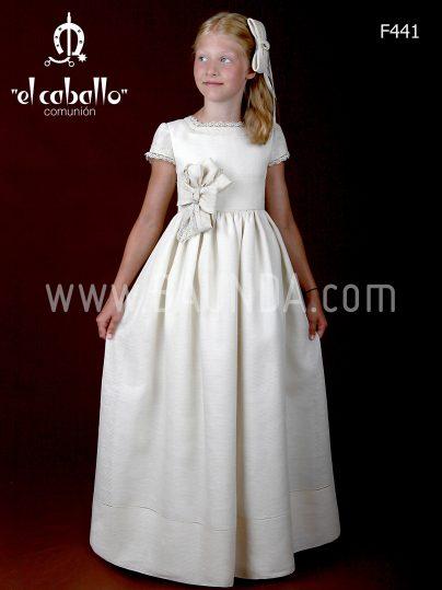 Outlet vestido de comunión El Caballo F441