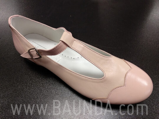 Zapatos de comunión rosas 2019 Baunda Z1902