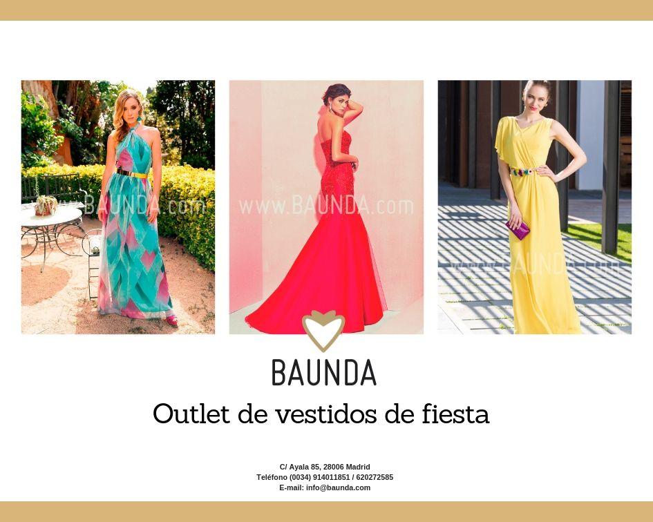 b7bd7030c771 Baunda Outlet de vestidos de fiesta - Baunda