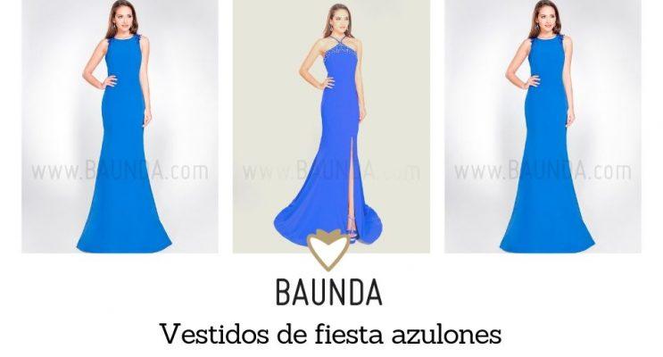 madrid vestidos largos fiesta boda azules