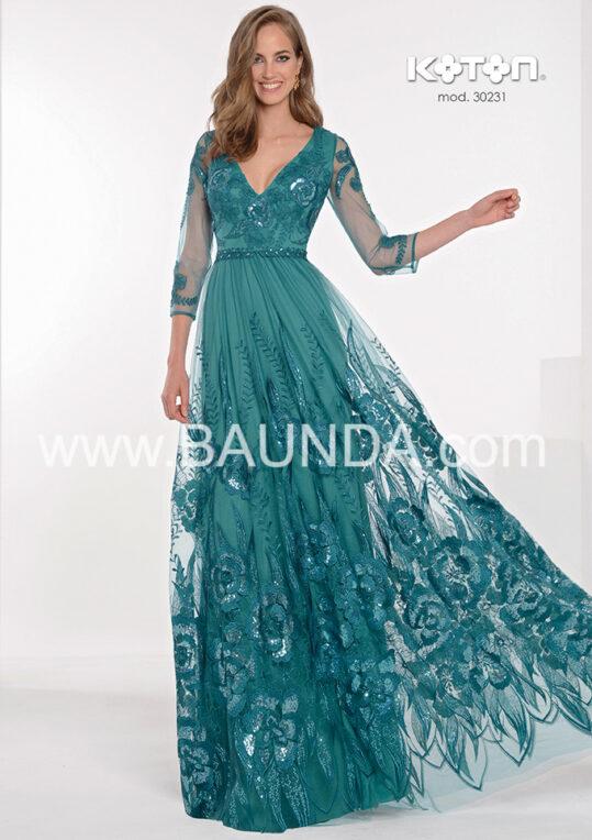 vestido_fiesta_encaje_lentejuela_verde_agua