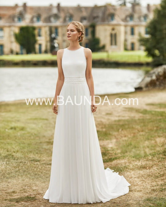 vestido_novia_boho_romantico_gasa_liso
