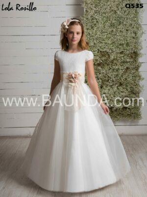 vestido_comunion_liso_marfil_organza